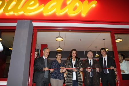 Inauguration restaurant 9 octobre 2017